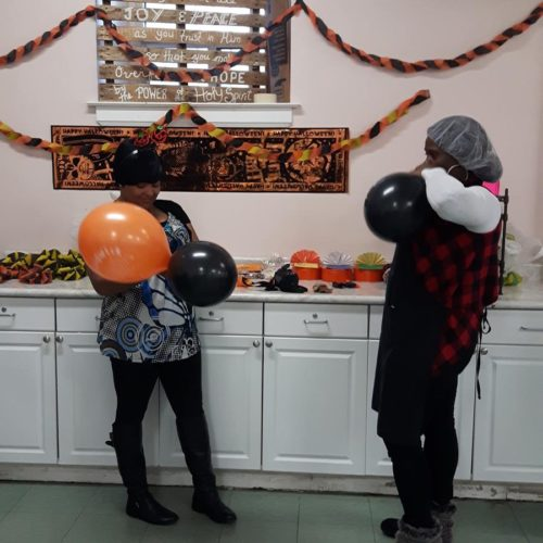 Halloween fun at Drop-In Centre