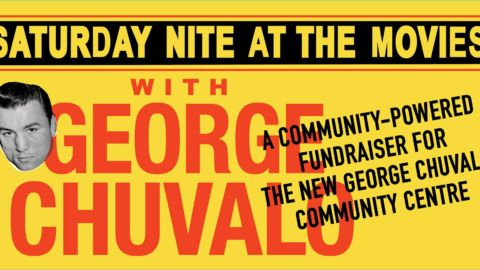 JOIN US for Saturday Nite @ the movies with George Chuvalo! A CONC Fundraiser…