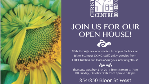 Community Open House offers a 'Sneak Peek' at our #30beds Shelter!