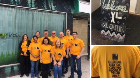 XL Catlin's #GlobalDayofGiving at CONC