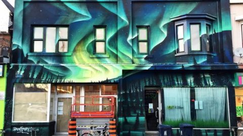"Bruno ""Smoky"": The Artist who Gave Life to our Mural at 850/854 Bloor St."